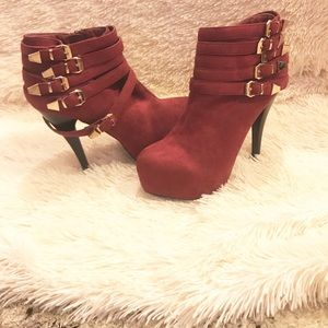 Shoes - Ankle Bootie Heels